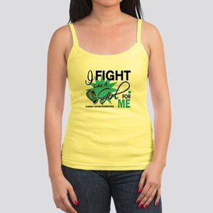 Fight Like a Girl For My Ovarian Cancer Jr. Spaghe