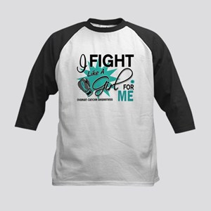 Fight Like a Girl For My Ovarian Cancer Kids Baseb