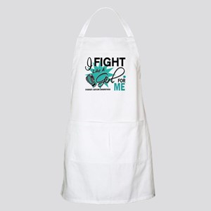 Fight Like a Girl For My Ovarian Cancer Apron