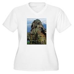 Bayon Stone Faces 3 T-Shirt