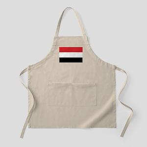 Yemen Flag BBQ Apron