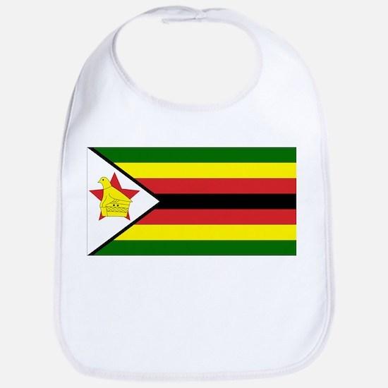 Flag of Zimbabwe Bib