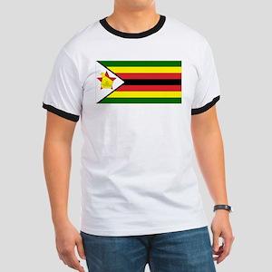 Flag of Zimbabwe Ringer T