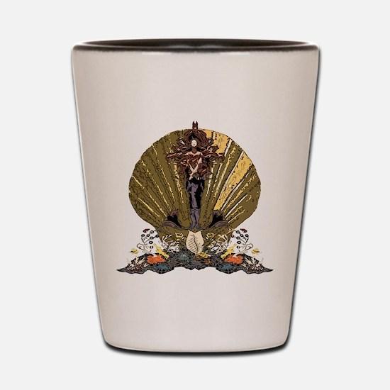 Sea Goddess Shot Glass