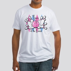 Queen of the Lanes Fitted T-Shirt