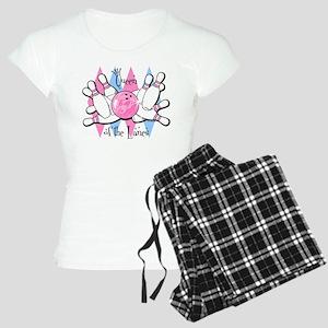 Queen of the Lanes Women's Light Pajamas