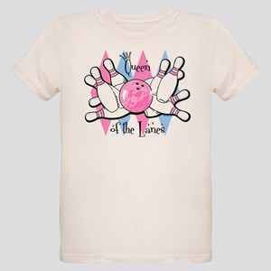 Queen of the Lanes Organic Kids T-Shirt