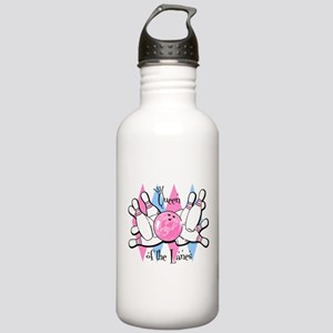 Queen of the Lanes Stainless Water Bottle 1.0L