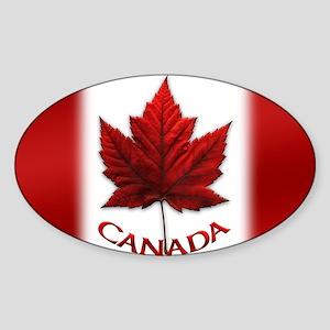Canada Flag Souvenir Sticker