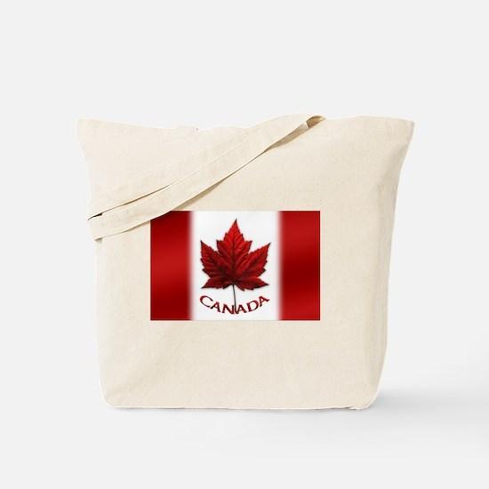 Canada Flag Souvenir Tote Bag