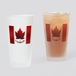 Canada Flag Souvenir Drinking Glass