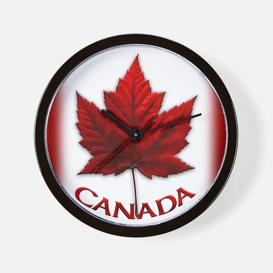 Canada Flag Souvenir Wall Clock