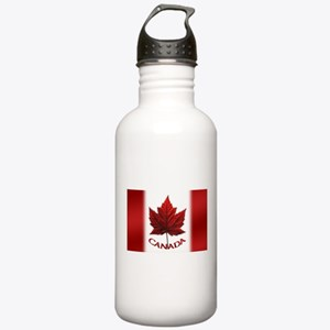 Canada Flag Souvenir Stainless Water Bottle 1.0L