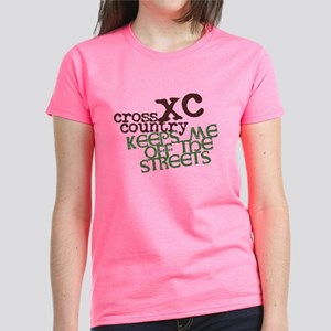 XC Keeps off Streets © Women's Dark T-Shirt