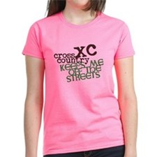 XC Keeps off Streets © Women's Dark T-Shirt