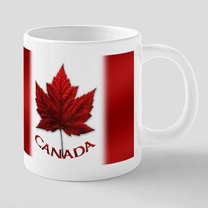 Canada Flag Souvenir 20 oz Ceramic Mega Mug