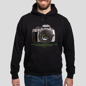 Nature Photographer Hoodie (dark)