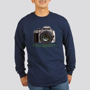 Nature Photographer Long Sleeve Dark T-Shirt