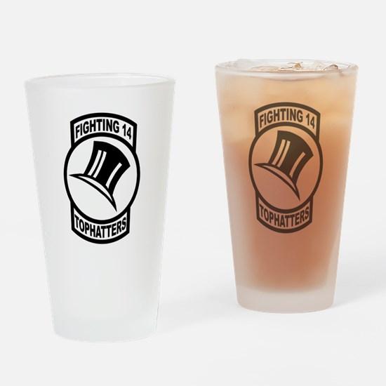 Funny Troop Drinking Glass