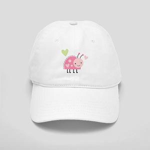 Pink Ladybug Cap