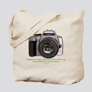 Nature Photographer Tote Bag