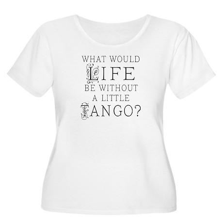 Tango Dancer Women's Plus Size Scoop Neck T-Shirt