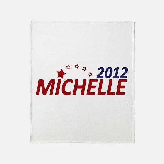 Michelle Bachmann 2012 Throw Blanket