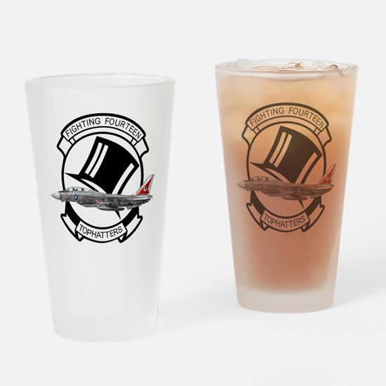 VF-14 Tophatters Drinking Glass
