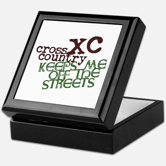 XC Keeps off Streets © Keepsake Box