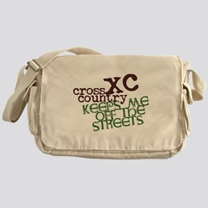 XC Keeps off Streets © Messenger Bag
