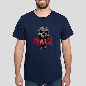 BMX skull Dark T-Shirt