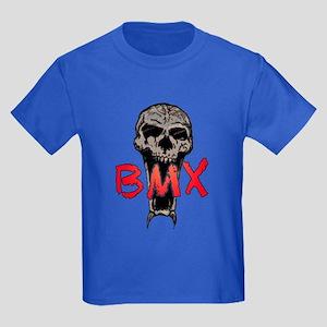 BMX skull Kids Dark T-Shirt