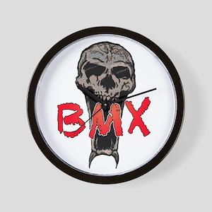 BMX skull Wall Clock