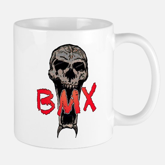 BMX skull Mug