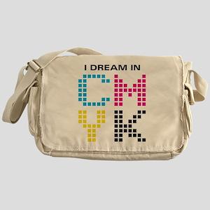 Dream In CMYK Messenger Bag