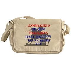 good girls Messenger Bag