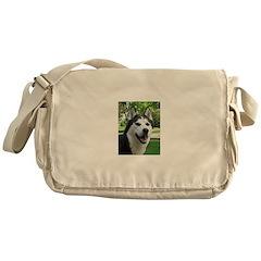 Husky Messenger Bag