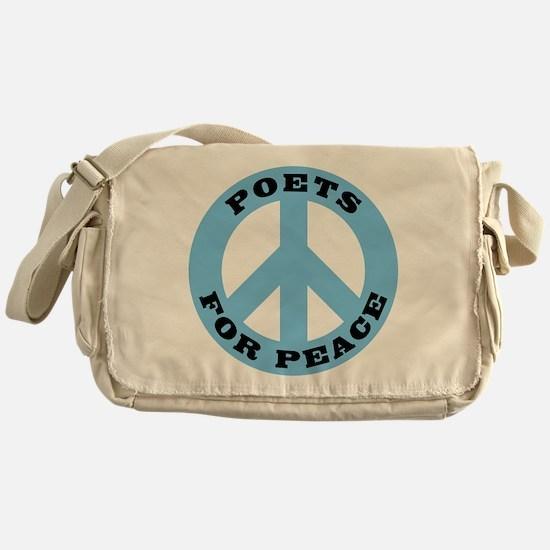 Poets For Peace Messenger Bag
