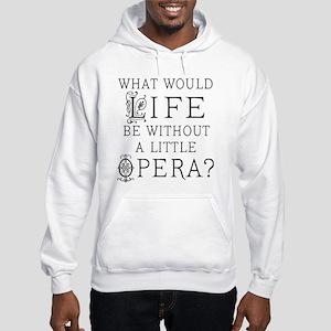 Opera Singer Gift Hooded Sweatshirt