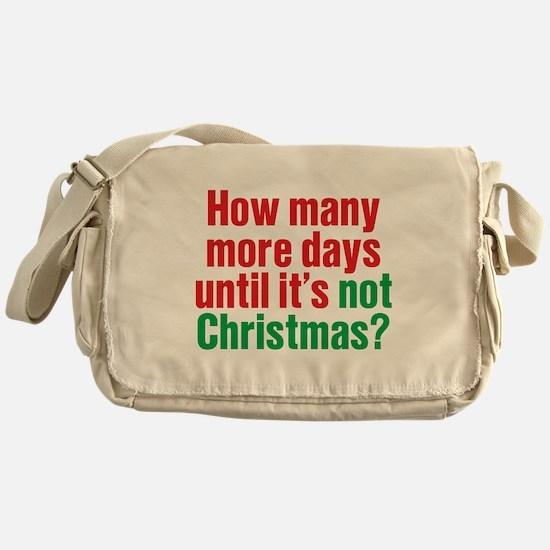 Not Christmas Messenger Bag