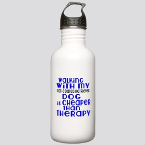 Walking With My Flat-C Stainless Water Bottle 1.0L