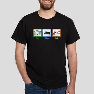 Eat Sleep Cut Dark T-Shirt