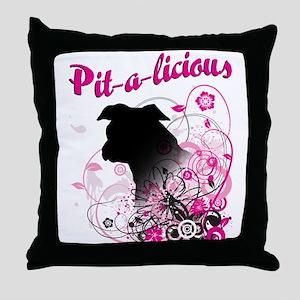 Pit-a-licious Throw Pillow