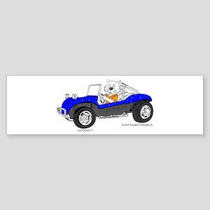 DUNE BUGGY CAT™ Sticker (Bumper)