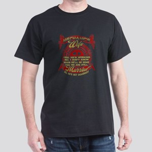 Mechanic's Wife T Shirt, Married T Shi T-Shirt