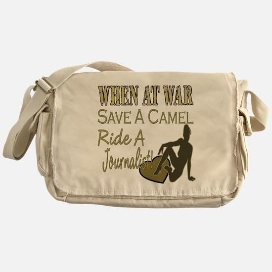 Save A Camel Messenger Bag