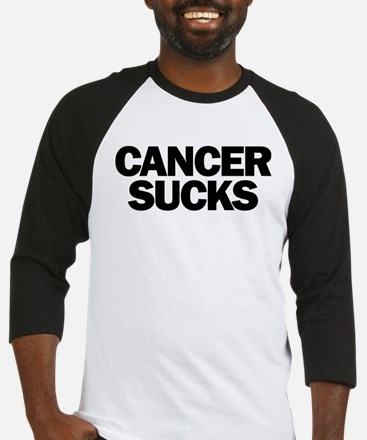 Cancer Sucks Baseball Jersey