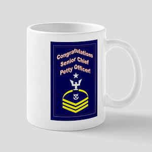 Congrats Senior Chief Petty O Mug