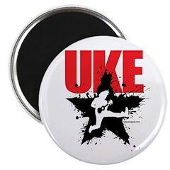 Star Uke Magnet