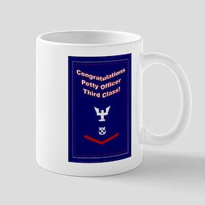 Congrats Petty Officer 3rd Cl Mug